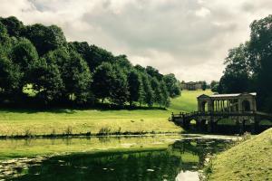 National Trust Prior Park in Somerset.