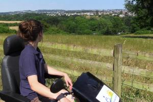 Enjoy views across Torbay by exploring with the Tramper