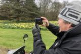 Enjoy the grounds and gardens of National Trust Antony, accessible by hiring a Tramper
