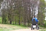 Explore Robinswood Hill by hiring an all terrain mobility scooter