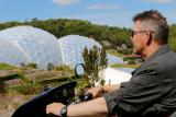 Explore The Eden Project by hiring an all-terrain Tramper