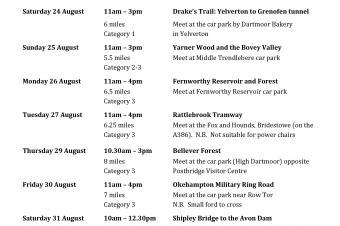 Dartmoor Walking Festival 2019 page 2