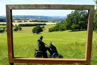 The Tramper at National Trust Killerton.