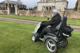 National Trust Antony is the latest location to offer Tramper hire