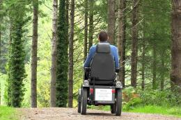 The all terrain Tramper allows you to explore more easily