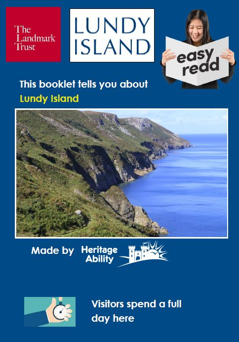 Lundy Island Easy Read