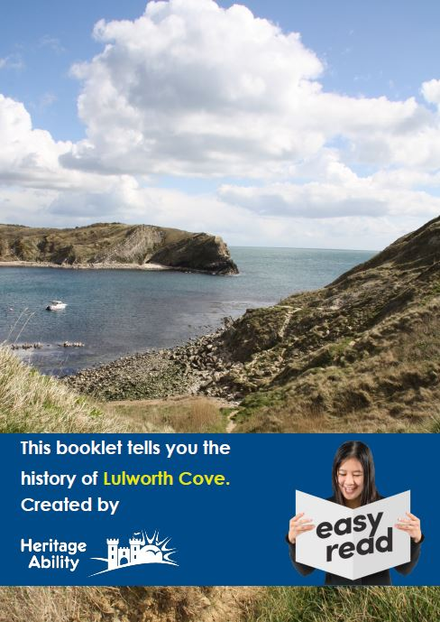 Lulworth Cove Easy Read